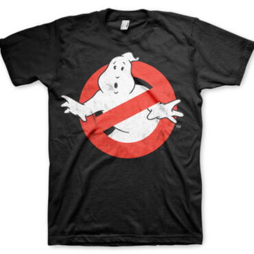 Ghostbusters Distressed Logo T-Shirt Herre Ghostbusters