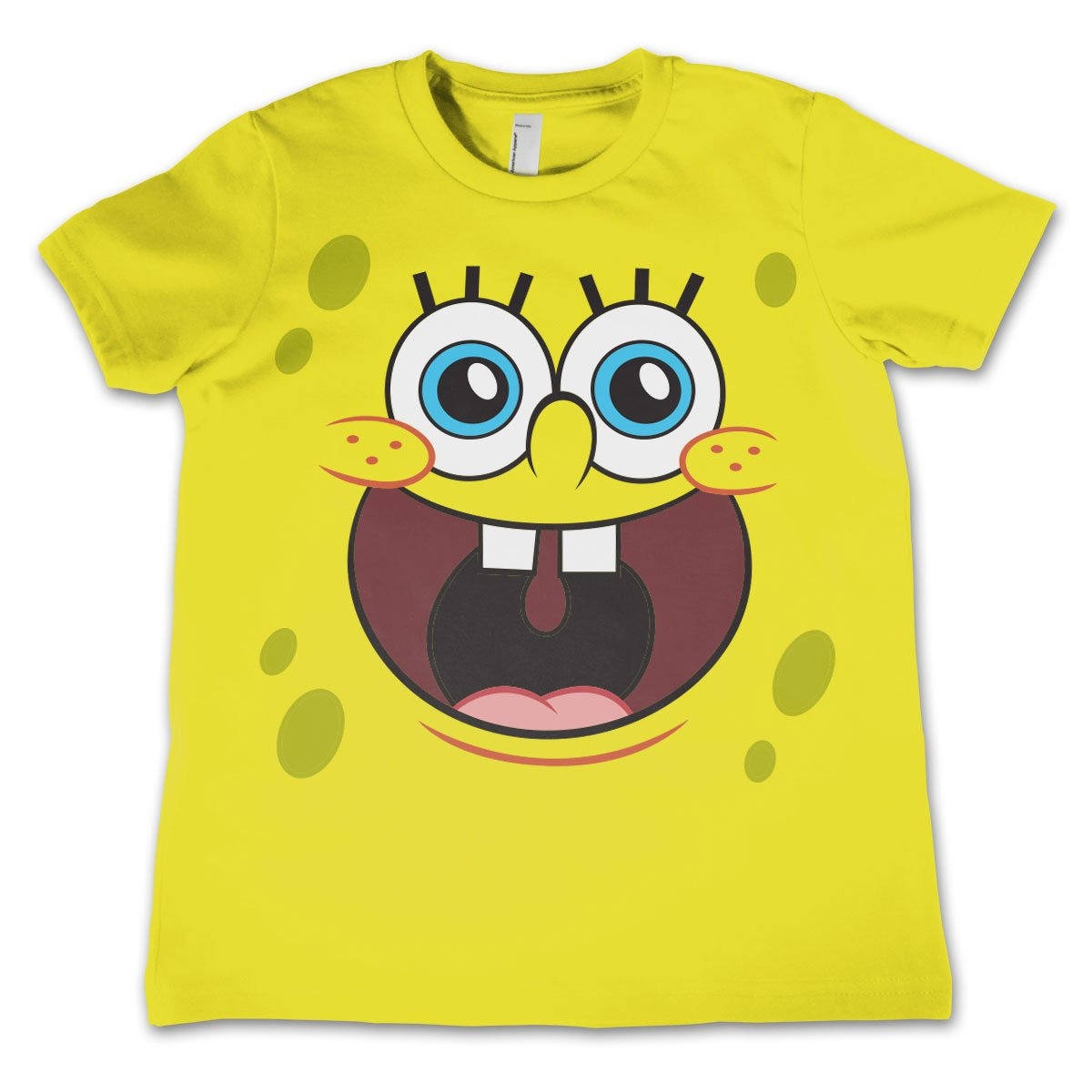 Sponge Happy Face Kids T-Shirt thumbnail