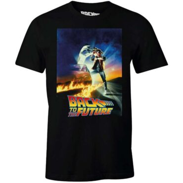 BACK TO THE FUTURE T-SHIRT – POSTER Herre Back to the future