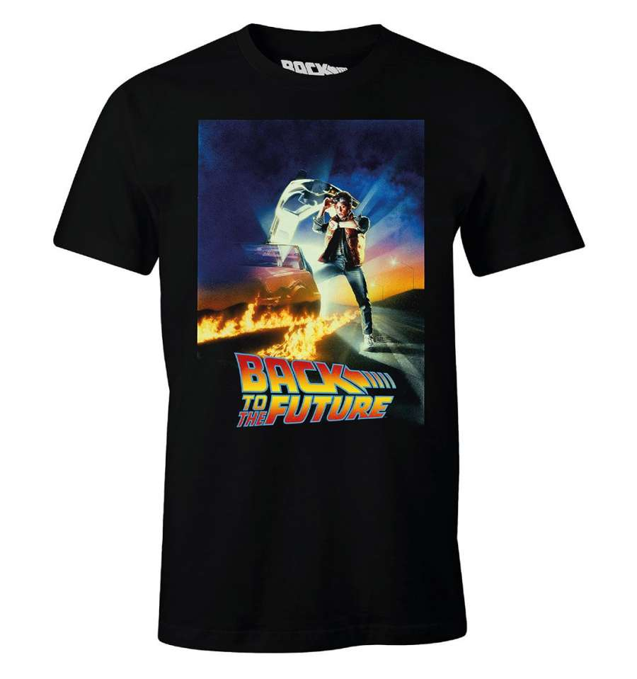 BACK TO THE FUTURE T-SHIRT - POSTER thumbnail