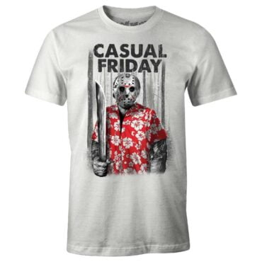 FRIDAY THE 13THT-SHIRT – CASUAL FRIDAY Herre Friday The 13th