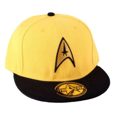 STAR TREK CAP – YELLOW LOGO Caps Cap
