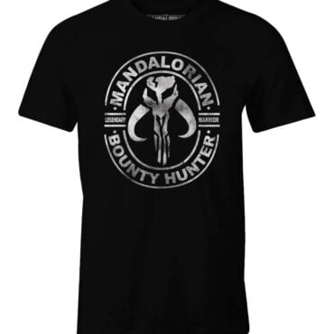 STAR WARS THE MANDALORIAN T-SHIRT – MANDALORIAN SYMBOL Herre Licenseret