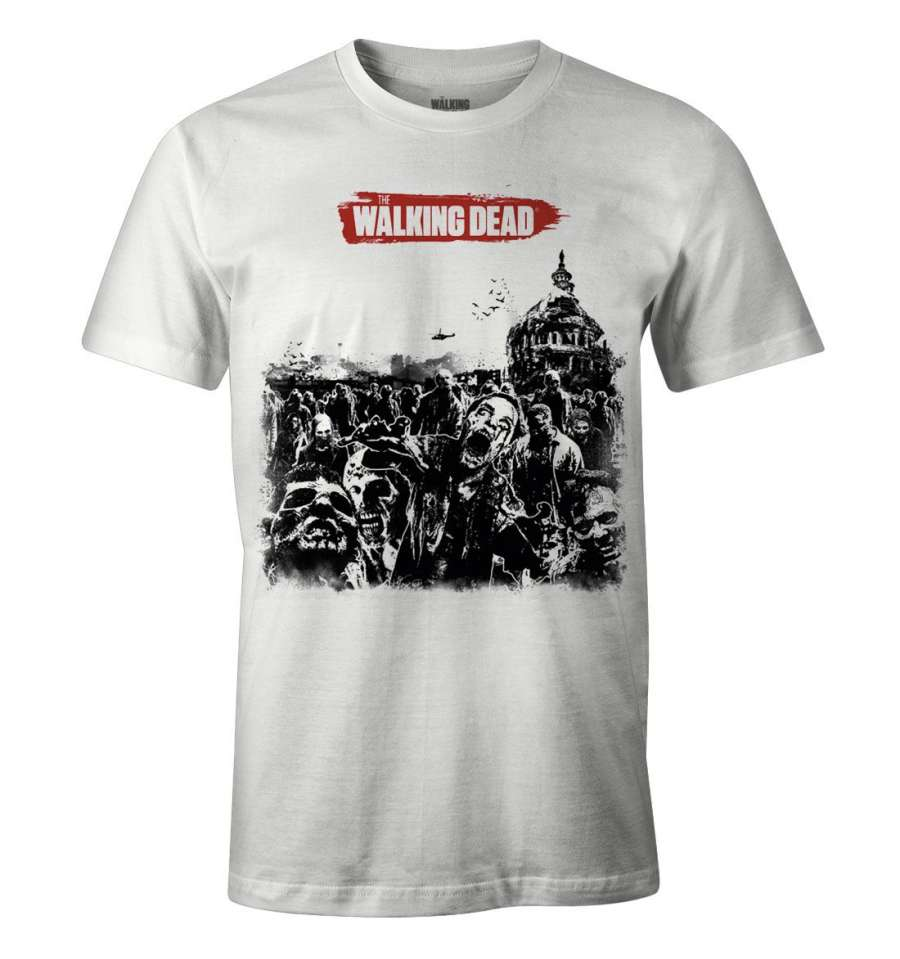 THE WALKING DEAD T-SHIRT - ZOMBIE HERD thumbnail