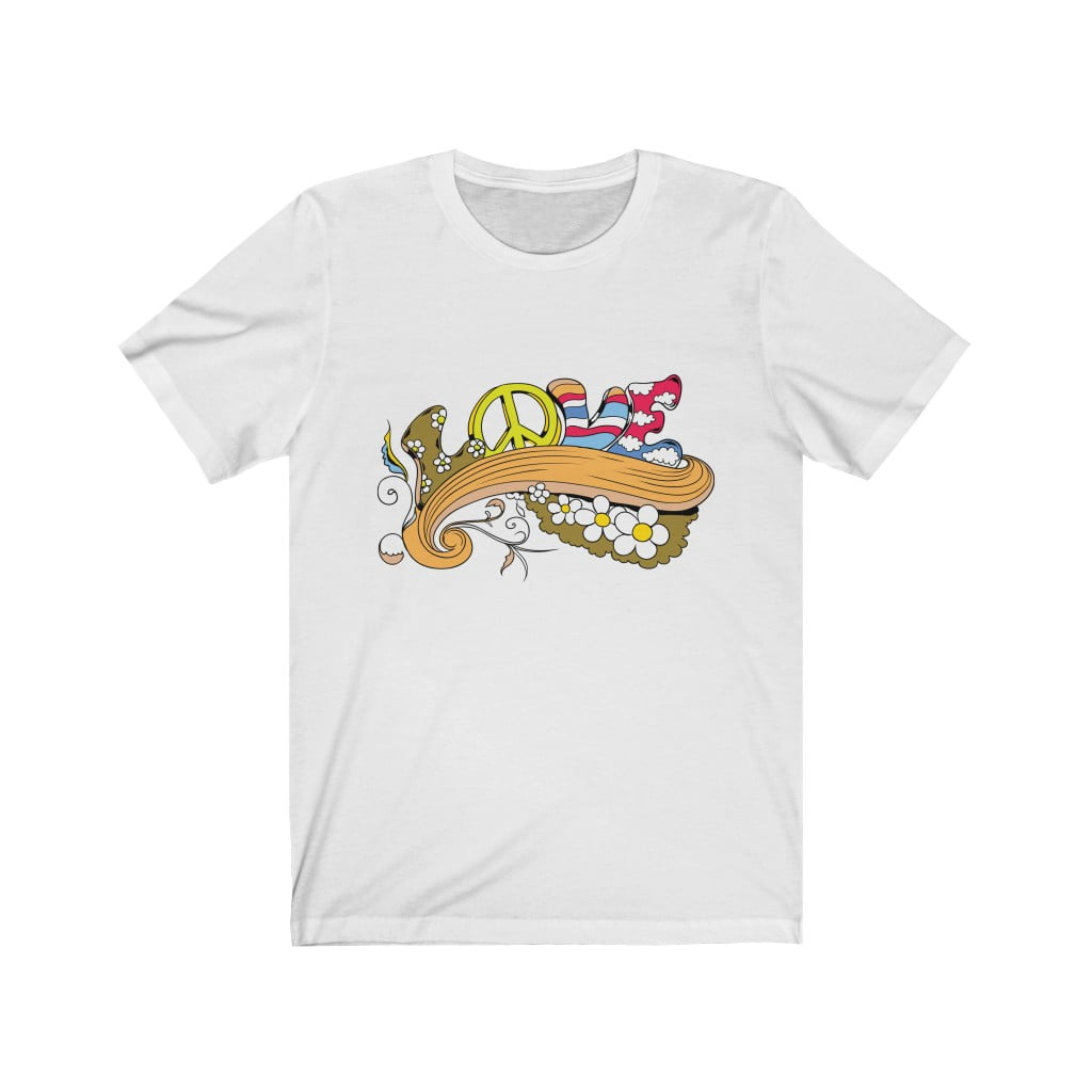 Unisex T-shirt: Flower Love thumbnail