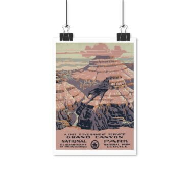 Plakat Grand Canyon Retro Look PBO Collection