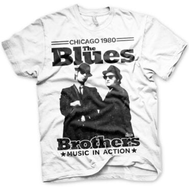 BLUES BROTHERS – Chicago 1980 T-shirt Herre Blues Brothers
