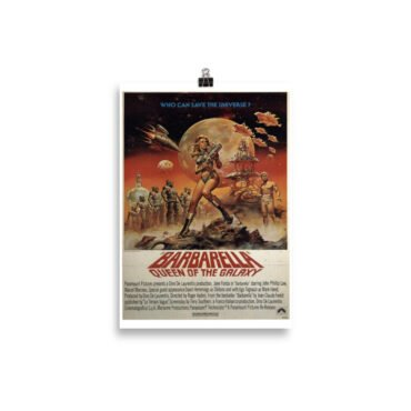 Plakat Barbarella Queen of the Galaxy PBO Collection
