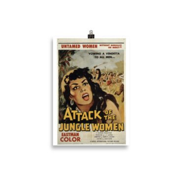 Plakat Attack of the Jungle Women (rpl) PBO Collection