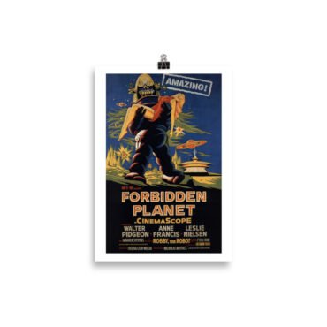 Plakat Forbidden Planet PBO Collection