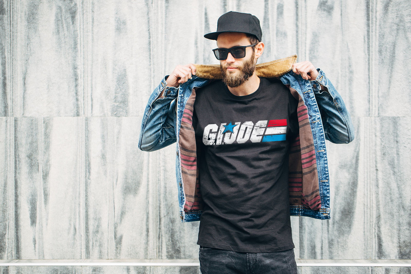 G.I. Joe Distressed t-shirt thumbnail