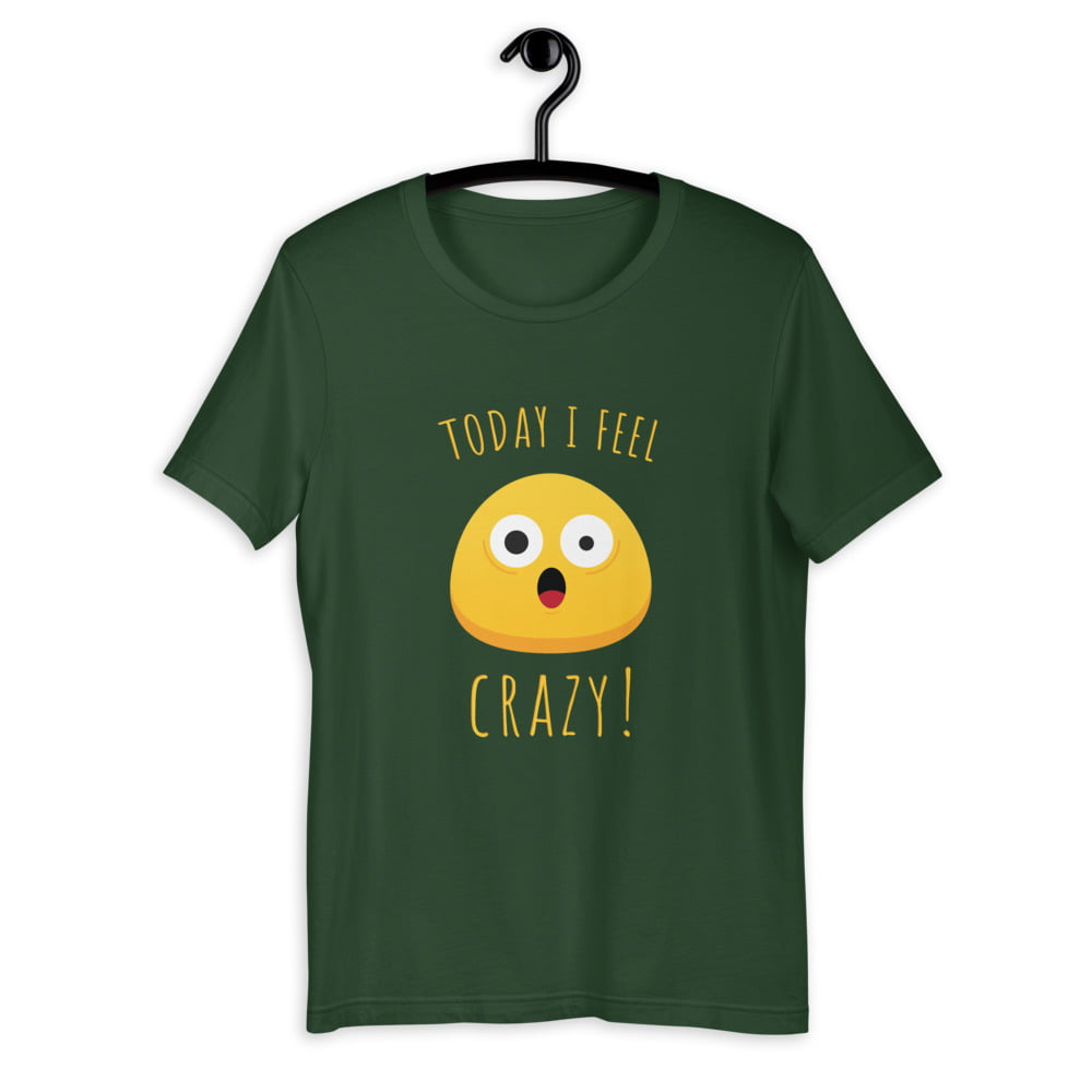 Unisex T-Shirt PBO Smiley Serie: Crazy thumbnail