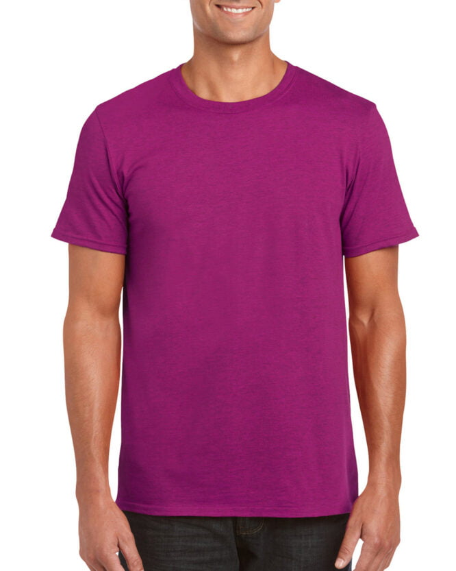 64000 Adult T Shirt Berry