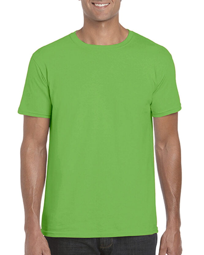 64000 Adult T Shirt Electric Green