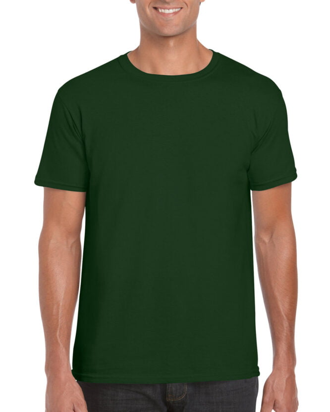 64000 Adult T Shirt Forest Green
