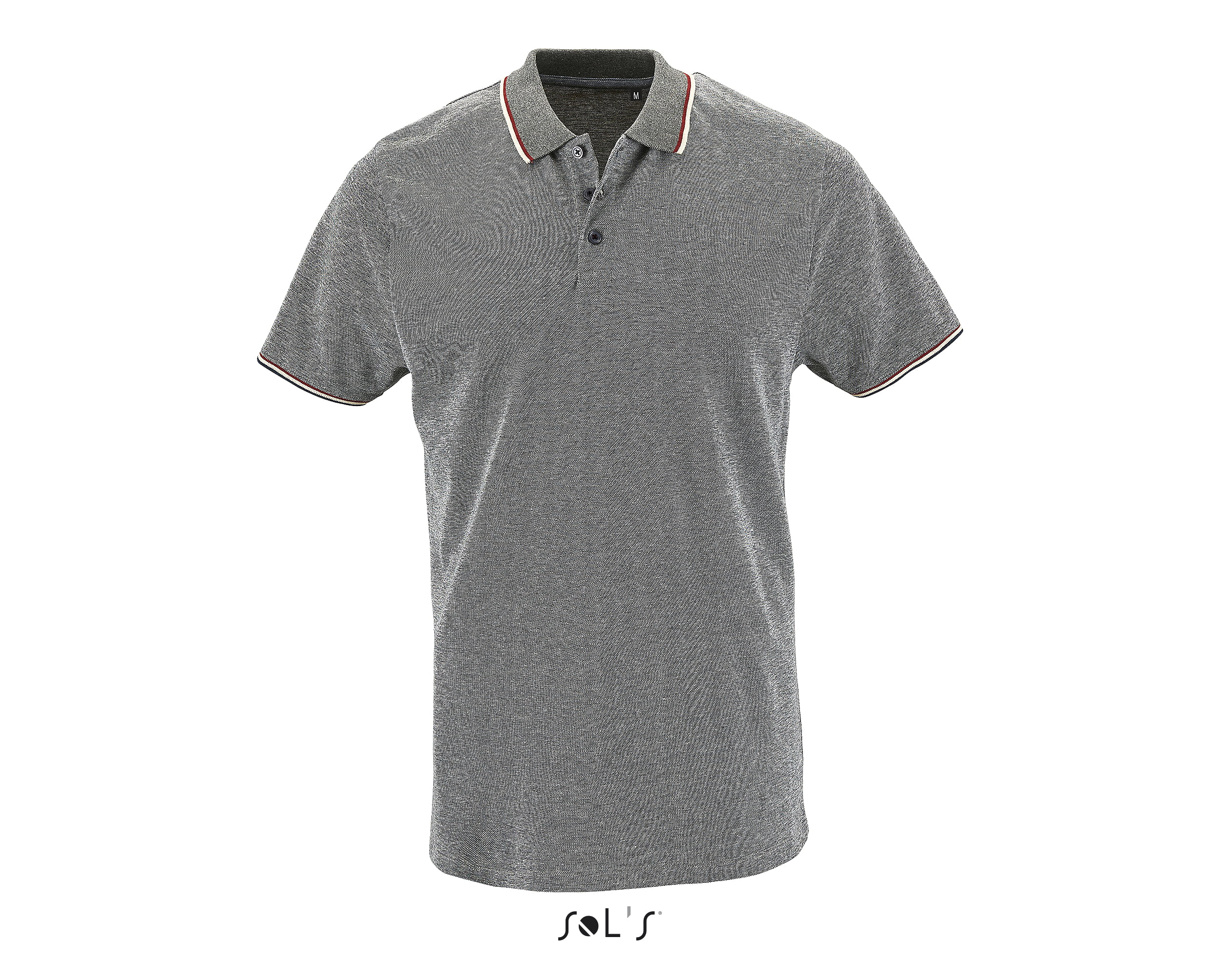 SOL´S PANAME HEATHER UNISEX POLO T-SHIRT thumbnail