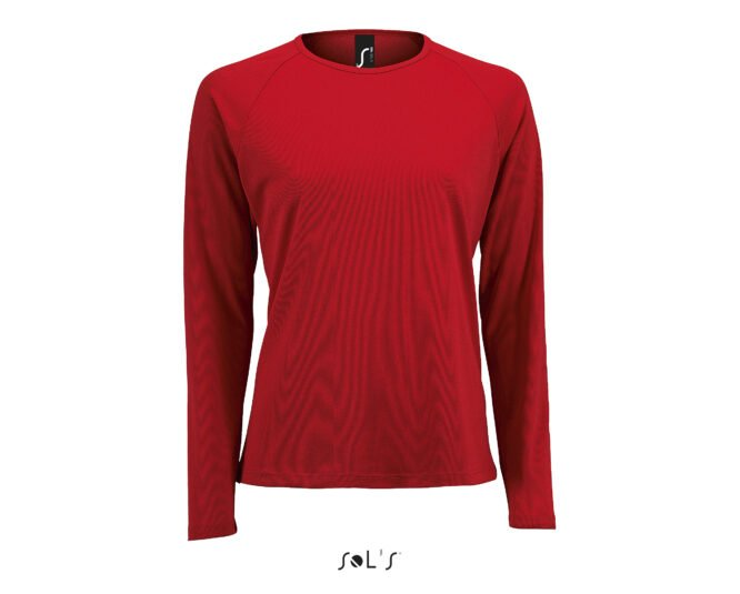 SOLS SPORTY LSL WOMEN 02072 RED A