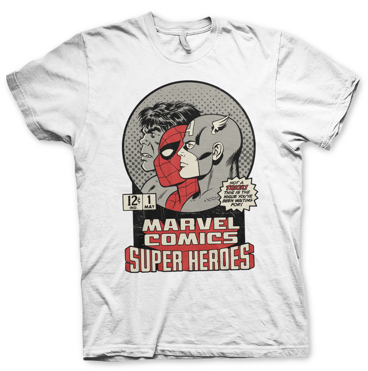 MARVEL COMICS VINTAGE HERO UNISEX T-SHIRT thumbnail